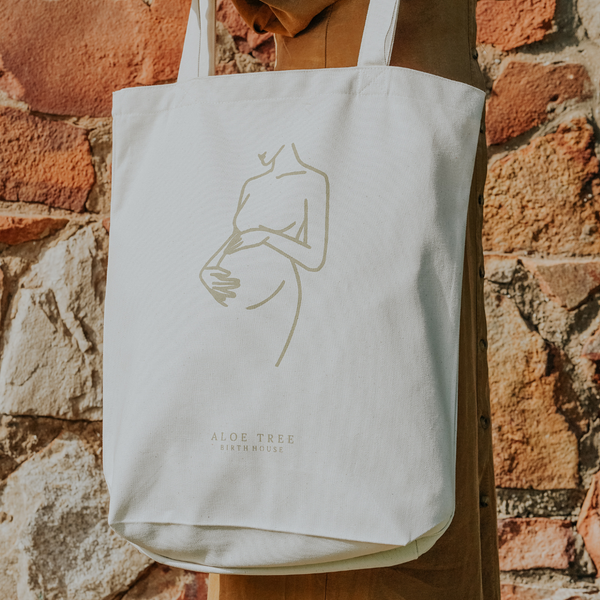 Canvas Tote - Aloe Tree Birth House