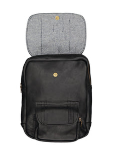 Mini Rider - Leather Backpack CHAPEL