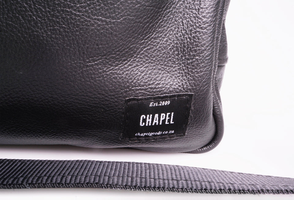 Essentials Brief - 15inch Leather Laptop Bag Work CHAPEL