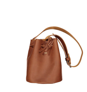 Mini Bucket - Leather Handbag Handbag CHAPEL Tan