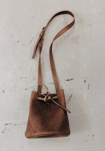 Mini Bucket - Leather Handbag