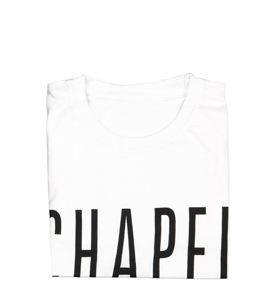 Chapel T-Shirt Accessories CHAPEL White Small