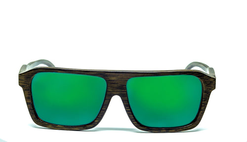 Aviator Sunglasses With Green Mirror Lens - Kadmat - Maybe Sunny