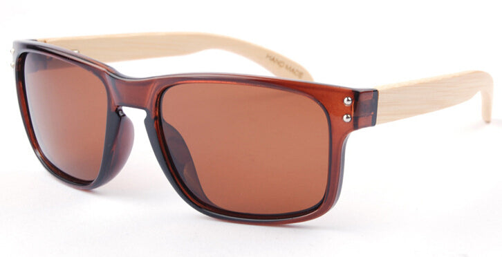 Wayfarer Women's Sunglasses With Brown Lens - Bondi - Maybe Sunny