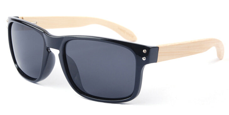Wayfarer Women's Sunglasses With Black Lens - Bondi - Maybe Sunny
