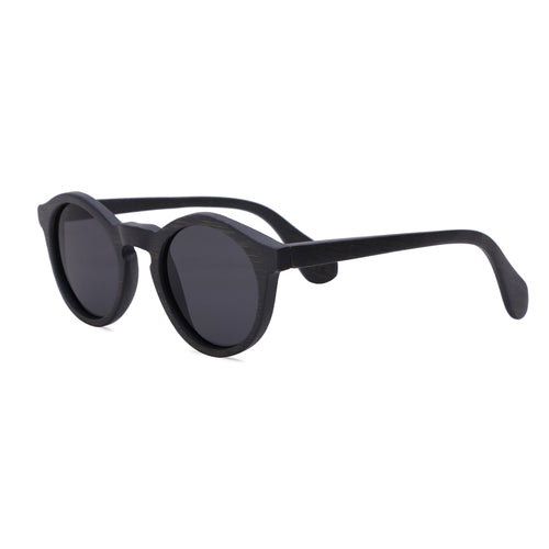 Round Sunglasses With Black Lens - Punalu - Maybe Sunny