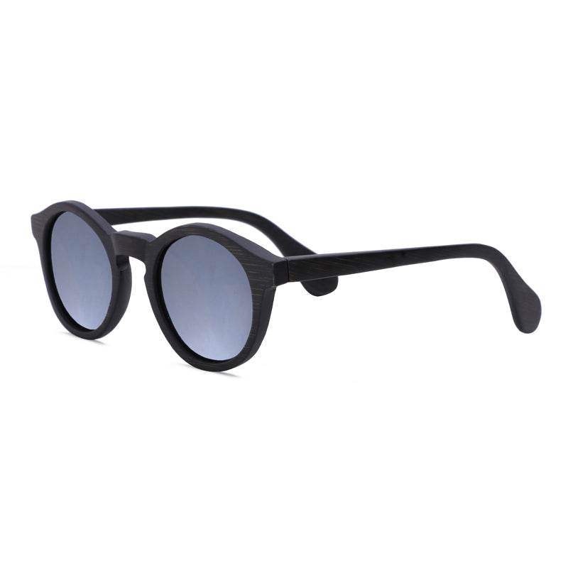 Round Sunglasses With Gray Lens - Punalu - Maybe Sunny