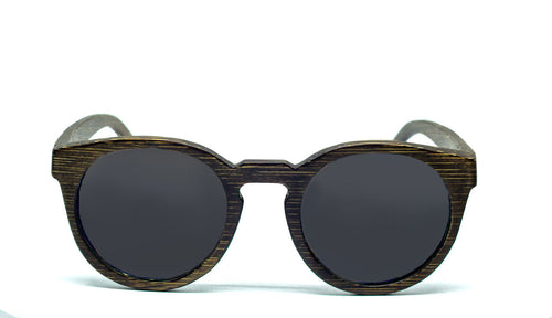 Round Sunglasses With Black Lens - Navio - Maybe Sunny