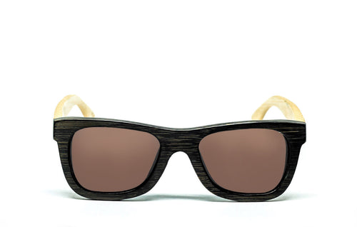 Wayfarer Sunglasses With Brown Lens - For Kids or Smaller Faces - Matira - Maybe Sunny