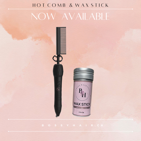 Wax Stick & Hot Comb