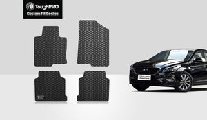 HYUNDAI Sonata 2018 Floor Mats Set Limited Model