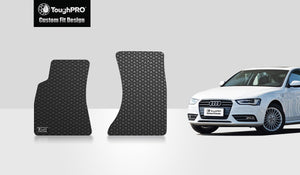 AUDI S4 2012 Two Front Mats