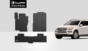 MERCEDES-BENZ GLS550 2018 Floor Mats Set