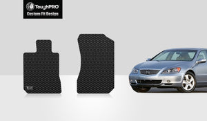 ACURA RL 2005 Two Front Mats