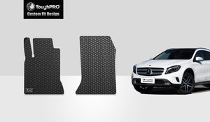 MERCEDES-BENZ GLA200 2017 Two Front Mat