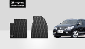 BUICK Enclave 2010 Two Front Mats For Bench Seating