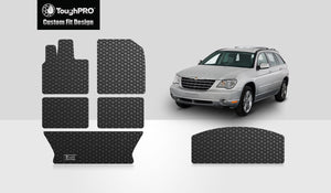CHRYSLER Pacifica 2007 Front Row  2nd Row  3rd Row  Cargo Mat (3rd Row Up)