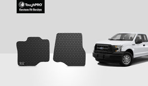 FORD F150 2016 Two Front Mats Super Cab