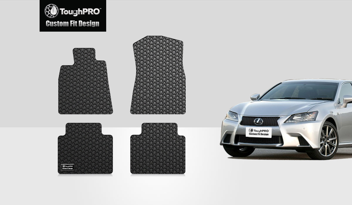 LEXUS GS460 2010 Floor Mats Set RWD (Rear Wheel Drive)