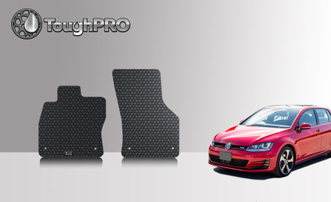 VOLKSWAGEN Golf GTI 2016 Two Front Mats