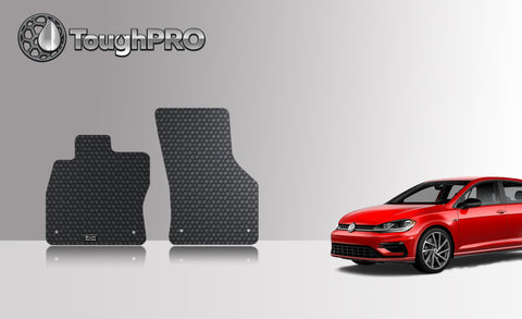 VOLKSWAGEN Golf R 2016 Two Front Mats