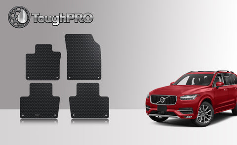 Volvo XC90 2019 Floor Mat Set (Front Row and 2nd Row)