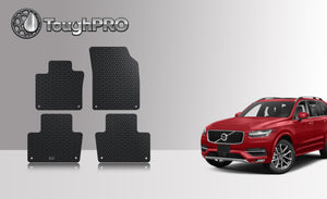 Volvo XC90 2018 Floor Mat Set (Front Row and 2nd Row)