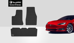 TESLA Model S 2016 1st & 2nd Row For All Model S, Built After 4/11/2016