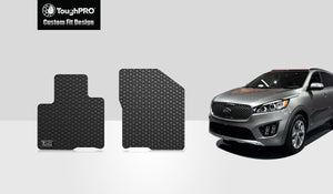 KIA Sorento 2018 1st Row Mat Set