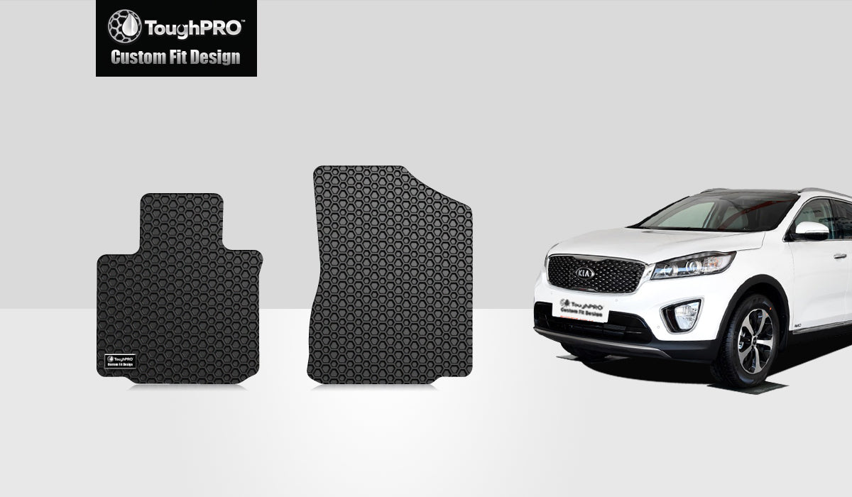 KIA Sorento 2015 1st Row Mat Set