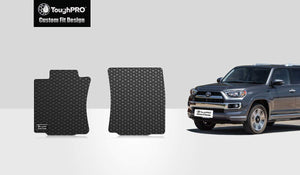 TOYOTA 4Runner 2019 Two Front Mats