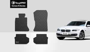 BMW 550i 2011 Floor Mats Set Rear Wheel Drive