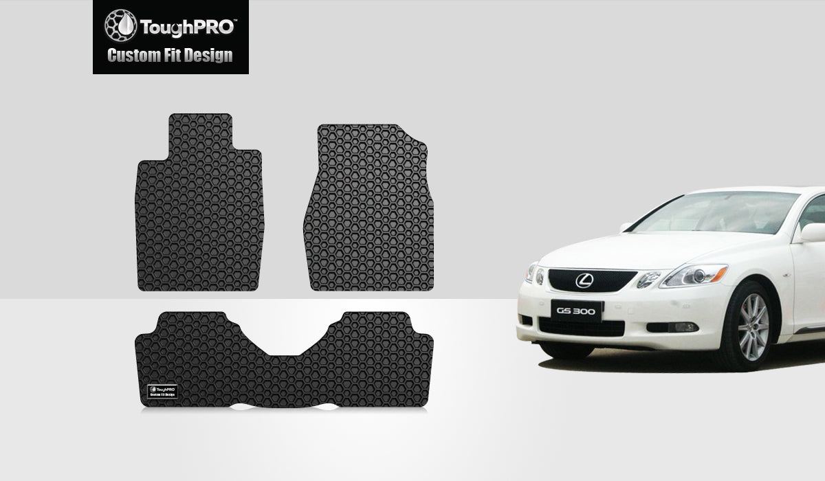 LEXUS GS300 2006 Floor Mats Set RWD (Rear Wheel Drive)