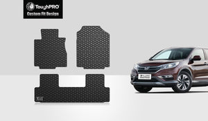 HONDA CRV 2013 Floor Mats Set