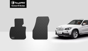 BMW X1 2016 Two Front Mats