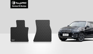 BMW X5 2014 Two Front Mats