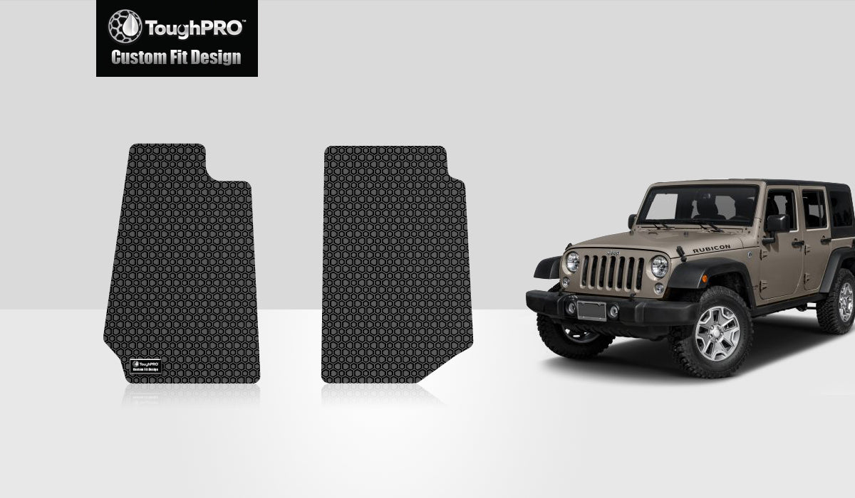 JEEP Wrangler Unlimited 2018 Two Front Mats 4 Door JK