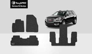 GMC Acadia 2017 Front Row  2nd Row  3rd Row 2nd Row  BUCKET SEATING