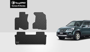 HONDA CRV 2002 Floor Mats Set