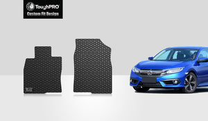 HONDA Civic 2016 Two Front Mats Sedan Model