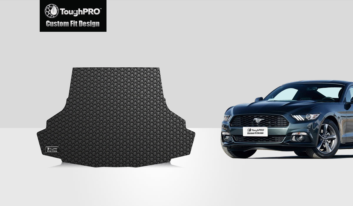 FORD Mustang 2017 Trunk Mat (without Shaker Pro Audio system)