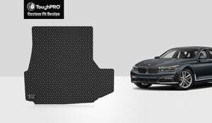 BMW 740i 2017 Trunk Mat  (Plug-in Hybrid)