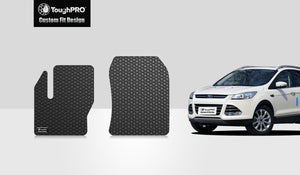 FORD Escape 2017 Two Front Mats