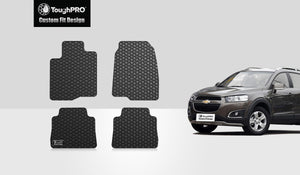 CHEVROLET Captiva 2013 Floor Mats Set