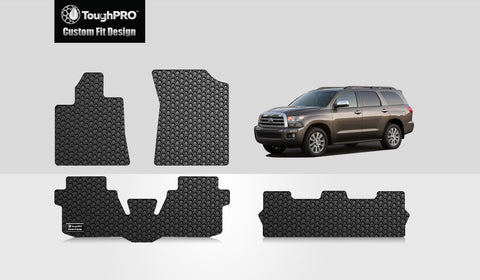 TOYOTA Sequoia 2013 Front Row  2nd Row  3rd Row