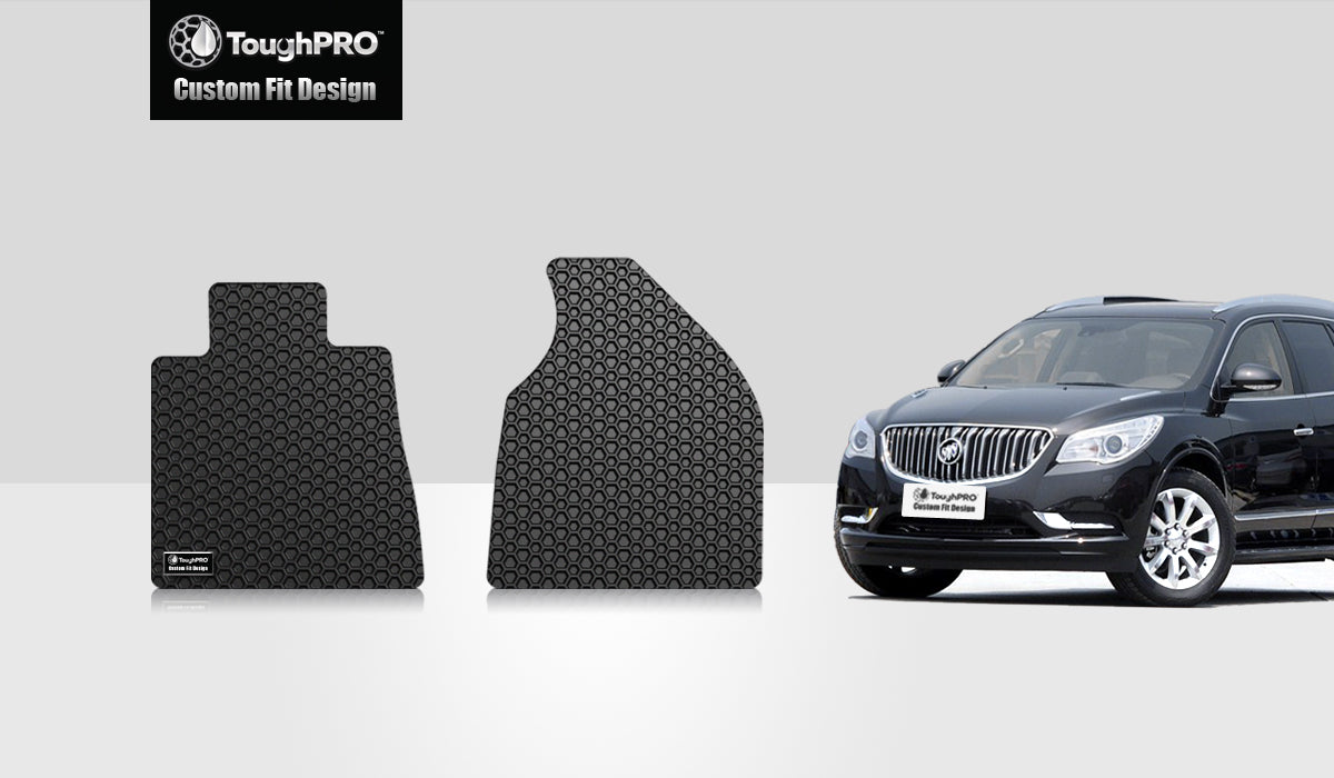 BUICK Enclave 2009 Two Front Mats For Bucket Seating