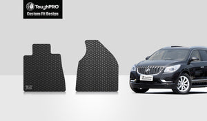 BUICK Enclave 2015 Two Front Mats For Bucket Seating