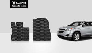 CHEVROLET Equinox 2010 Two Front Mats