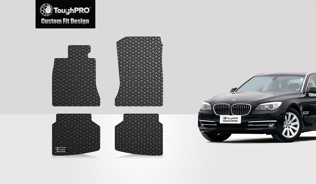BMW 760Li 2009 Floor Mats Set Rear Wheel Drive