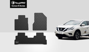 NISSAN Murano 2015 1st & 2nd Row